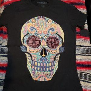 Earthbound Sugar skull T Shirt